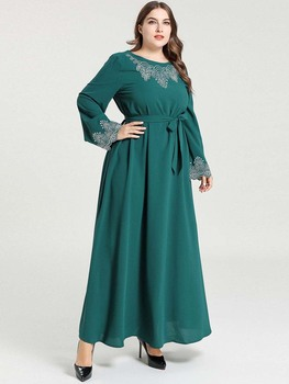 Abaya Turkish Kaftan Dubai Hijab Muslim Dress Islamic Clothing Abayas For Women Dresses Pakistan Caftan Baju Muslim Wanita Robe muslim women dress abaya short sleeved small dots pattern marron robe dubai caftan clothing