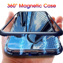 Magnetic Adsorption Case For Samsung Galaxy Note 10 Pro Tempered Glass Back Plus