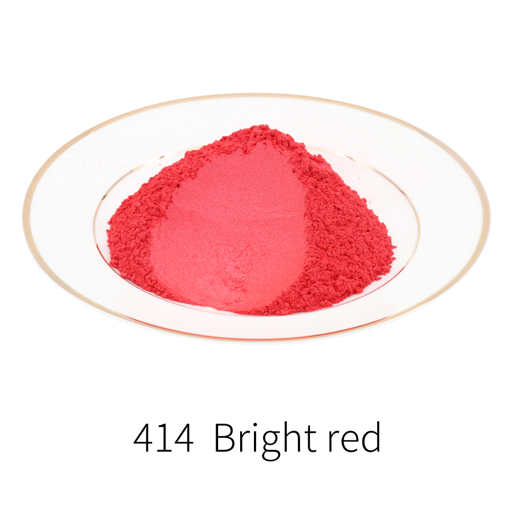 Pearl Powder Natural Mineral Mica Dust DIY Dye Colorant Type 414 Pigment For Soap Automotive Art Crafts 10g 50g  Acrylic Paint