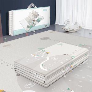 Image 1 - Tapis de jeu pliable réversible imperméable pour bébés, grand Puzzle XPE, tapis de jeu Portable, Double face, pour enfants