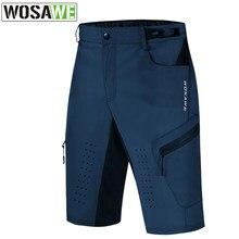 WOSAWE – short de cyclisme pour hommes, respirant, anti-transpiration, pour Sports de plein air, équitation, cyclisme