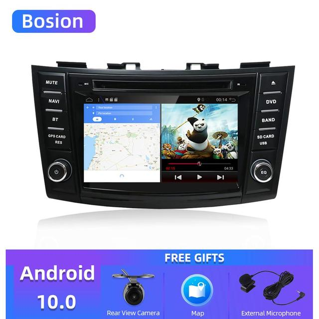 "Bosion Car multimedia dvd player 7"" android 10.0 gps For suzuki swift 2011 2015 navigation stereo autoradio video Car Radio GPS"