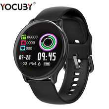 YOCUBY SE01 Sport IP68 Smart Watch Women Men Fitness Tracker Heart Rate Monitor Waterproof Smartwatch for IOS Android for Xiaomi