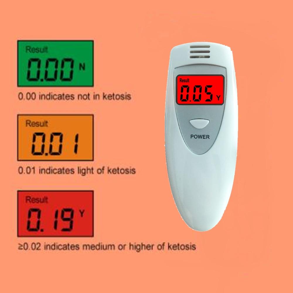 GREENWON three colors display breath Keto Meter fat burn & weight loss ketone tester ketosis meter monitor