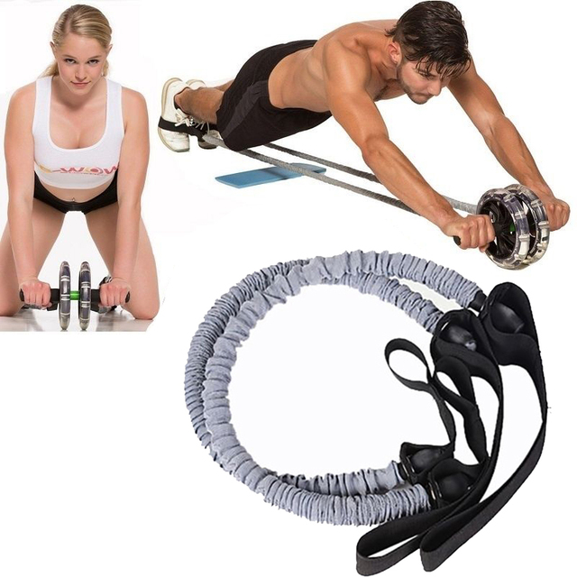 2 Pcs/1Pcs Resistance Training Bands Tube Workout Exercise for Yoga Fashion Body Building Fitness Equipment Tool