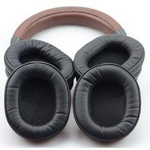 Oreillettes en peau de mouton pour casque Audio-Technica M50X M20 M40 M40X SX1, accessoires de remplacement