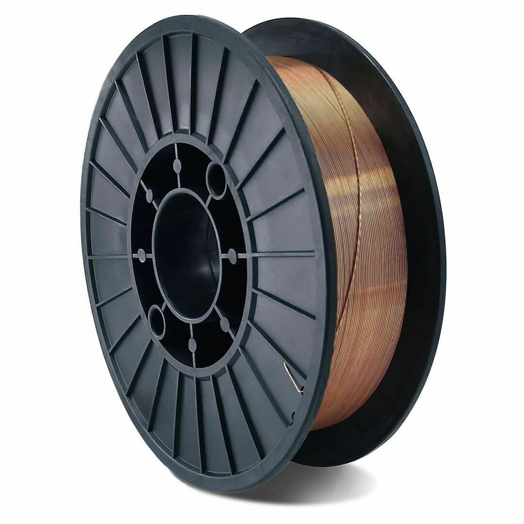 Tools : Welding Wire MIG MAG5KG Carbon Steel Gas Shielded Welding Wire Mild Steel ER70S-6   ER50-6 MIG Carbon Steel Welding Wires 0 8m
