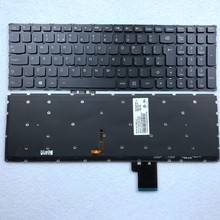 UK Backlit Laptop Keyboard for Lenovo Y50 Y50-70 Y70-70 U530 U530P U530P-IFI T6B2-UK 25213202 UK Layout