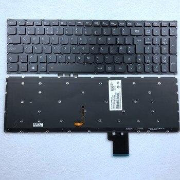 цена на UK Backlit Laptop Keyboard for Lenovo Y50 Y50-70 Y70-70 U530 U530P U530P-IFI T6B2-UK 25213202 UK Layout
