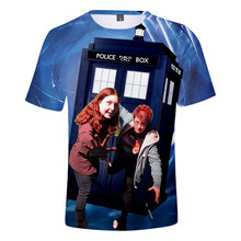 Hot Sale Doctor Who 3D Print t-shirt in boys/girls Harajuku design Newest Summer Tees Popular TV Doctor Who tops