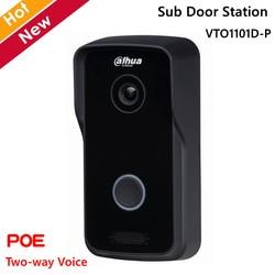 Dahua VTO1101D-P Sub Deur Station Met High Definition Camera True Wdr Ondersteunt Twee-Weg Spraak En Poe Voor Video intercoms Systeem