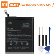 XiaoMi Original Replacement Battery BM22 For XiaoMi 5 Mi 5 Mi5 New Authentic Phone Battery 2910mAh петрарка франческо сонеты
