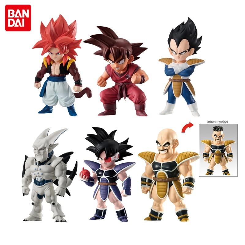 Image 4 - Dragon Ball Super Original BANDAI ADVERGE Collection Figure    Broly Raditz Cell Nappa Turles Vegeta Goku Gogeta Piccolo YamchaAction