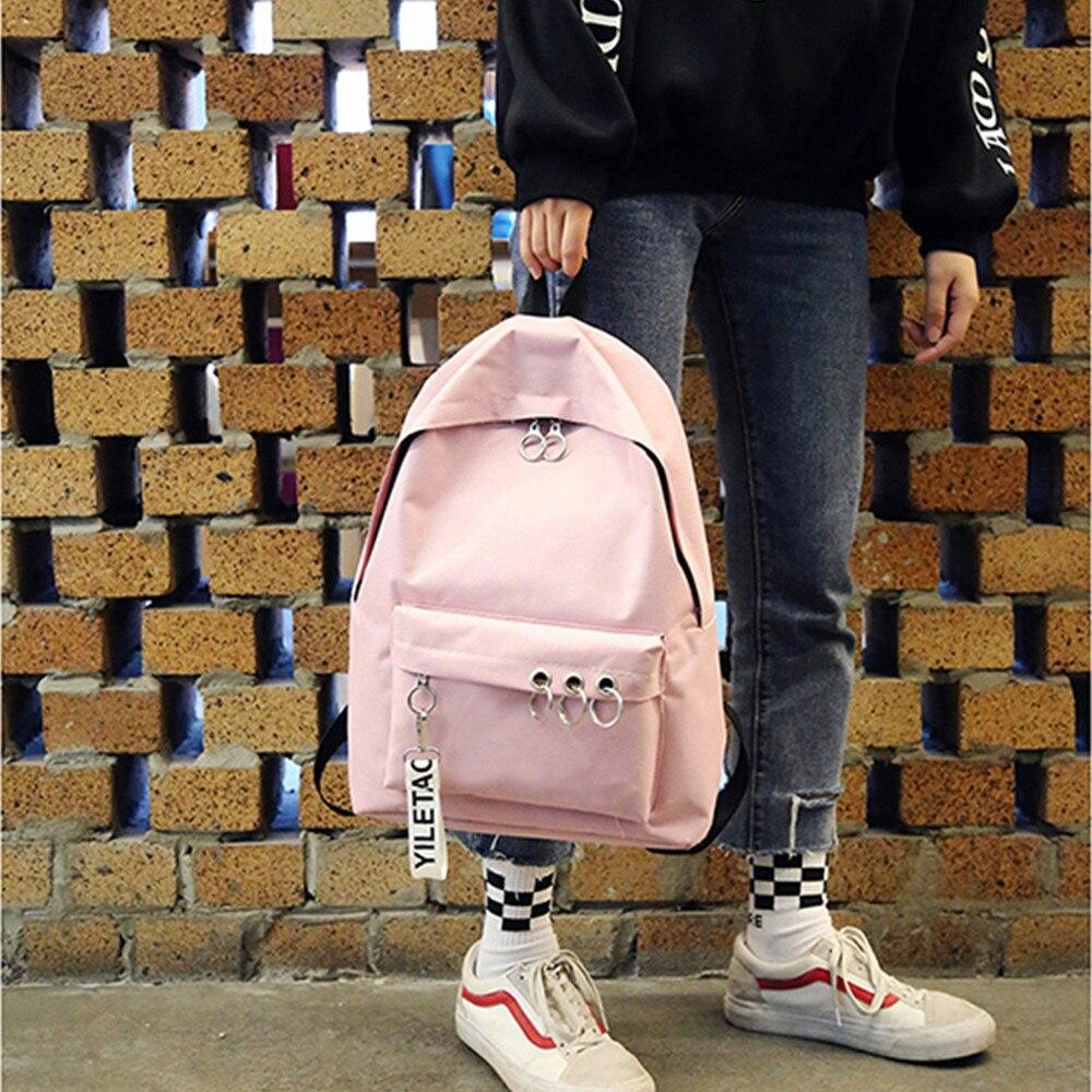 2020 New Women Canvas Backpacks Waterproof School Travel Bags For Teenagers Girls Laptop Backpacks Patchwork Backpack рюкзаки