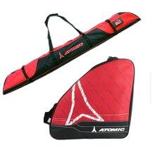 Толстые профессиональные лыжные зимние сапоги сумка переносная ручная сумка на плечо Нескользящая для сноуборда двойная доска чехол запчасти