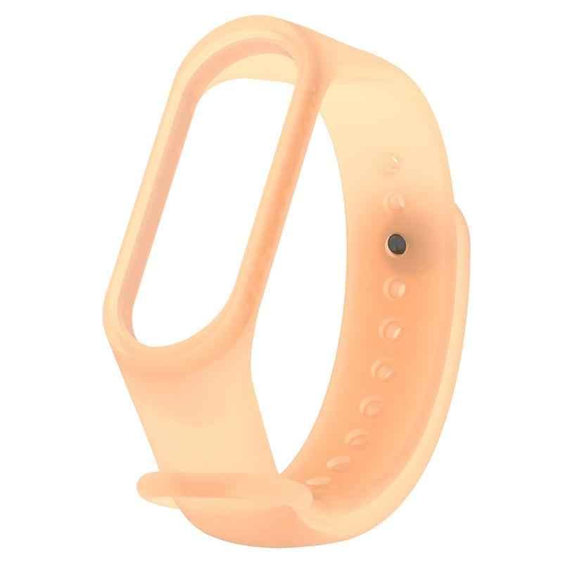 6 farben Feste Smart Armband für Xiao mi mi Band 3 4 Armband Strap Silicon TPU Sport Strap Armband Ersatz armband TSFH
