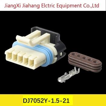 Freeshipping 200sets DJ7052Y-1.5-21 Car Electrical Wire Exhaust gas recirculation valve Connectors for VW,BMW,Audi,Toyota,NISSAN