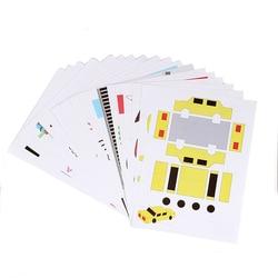 Pióro do dekorowania 3D akcesoria do tworzenia albumów dla dzieci 3D zdjęcie losowe 15 dwustronne wysyłanie przezroczystej płyty Linyi w Części i akcesoria do drukarek 3D od Komputer i biuro na