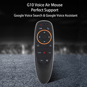 Image 2 - Kebidu G20S/G10S 2.4G Wireless Air Mouse Gyroscope IR Learning Smart Voice Gyro Remote Control For X96 H96 MAX Android Box