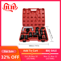 21PCS Automotive C Type Puller Ball Joint Removal Tool Master Adapter Car Repairing Tool Kit Ball Disassembly Tool Car Styling