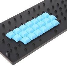 Pbt keycaps dsa 1u пустые печатные колпачки для игровой механической