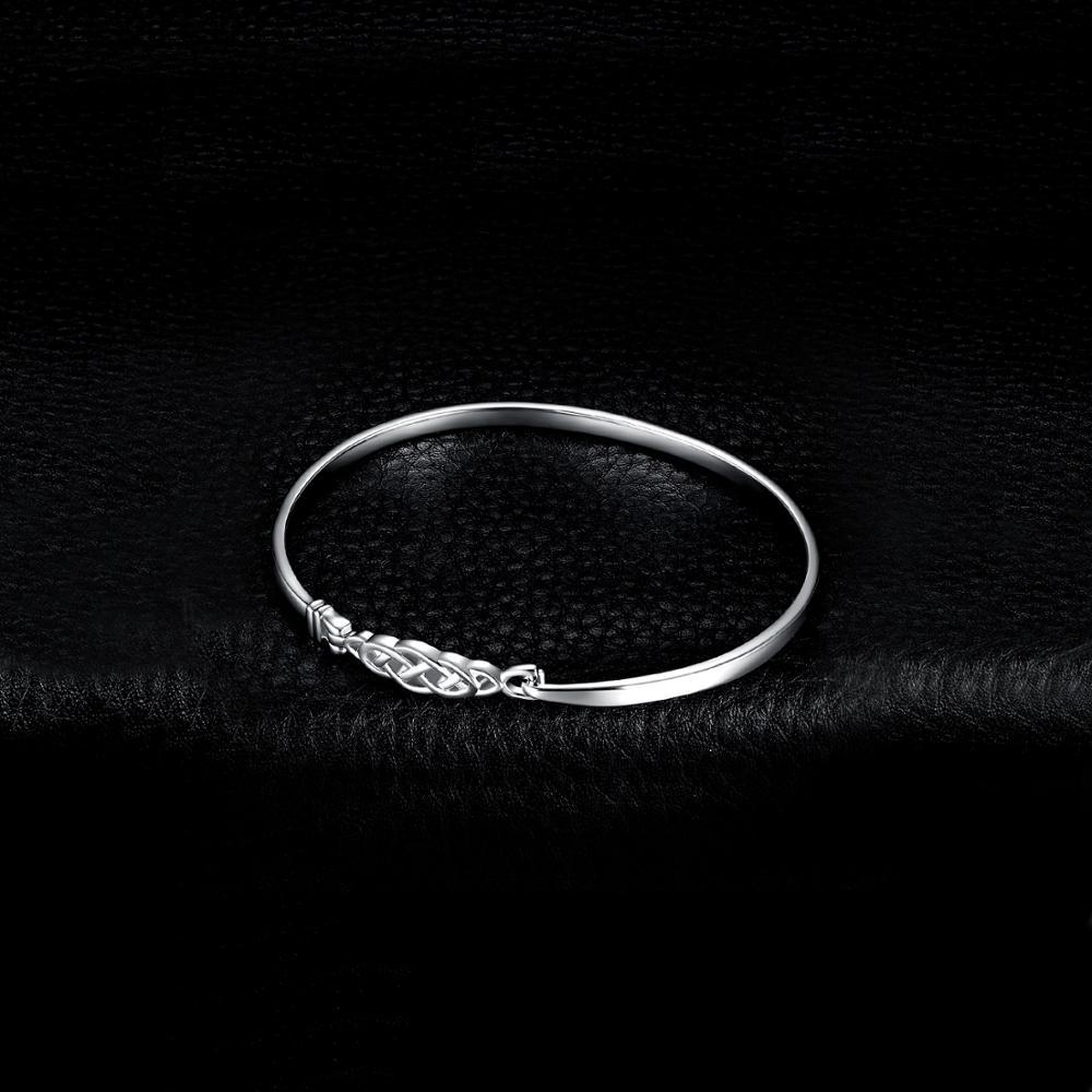 Image 3 - JPalace Crown Celtic Knot Bracelet 925 Sterling Silver Bangles  Bracelet Bracelets For Women Silver 925 Jewelry Making  OrganizerBracelets