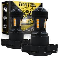 BMTxms Car PY24W 5200s lampadine a LED Canbus indicatori di direzione per BMW E90 E91 E92 E93 F10 F07 5 serie E83 F25 X3 E70 X5 E71 X6 Z4