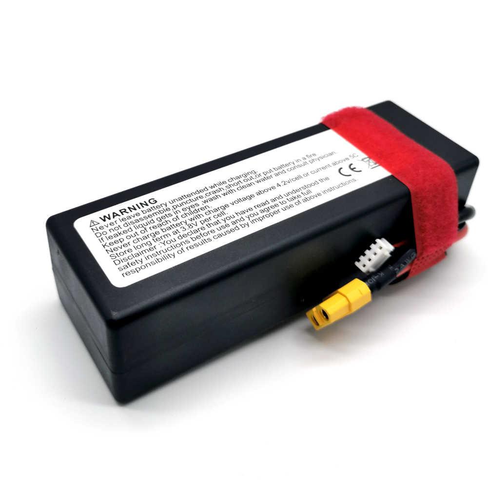 DXF 8000mAh 3S1P 11.1V 110C/220C Hardcase LiPo batterie Dean/T XT90 EC5 XT150 XT60 prise pour 1/8 1/10 RC voiture tout-terrain buggy truggy