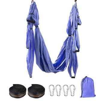 Hot Selling Anti-Gravity Yoga Hammock Home Gym Hanging Belt Fitness Swing Strap Set