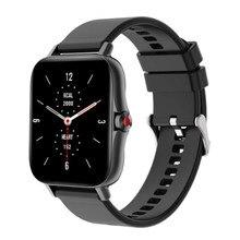 I18 chamada bluetooth relógio inteligente 1.69 Polegada freqüência cardíaca monitoramento de pressão arterial fitness rastreador esportes à prova dwaterproof água smartwatch