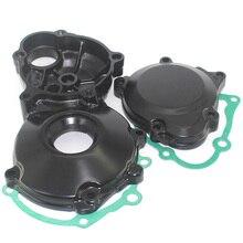 for Suzuki GSXR1000 2001 2006 GSX R1000 GSX R GSXR 1000 Engine Motor Clutch Gear Cover Case Starter