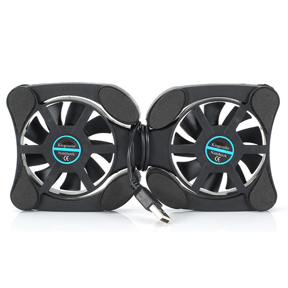 Collapsible Heat Dissipation Fan Laptop Small Portable Radiator Cooling Pad USB Laptop Radiator Notebook USB Fan Cooler