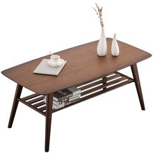 Japanese-style coffee table small apartment low table living room Nan bamboo Nordic coffee table simple household tea table(China)
