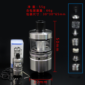 цена на SXK LORD MTL RTA 22mm Airflow Single Coil 4ml Vape Tank For 510 Thread Vape Tank Vaporizer VS Zeus DDripper RTA  dvarw MTL RTA