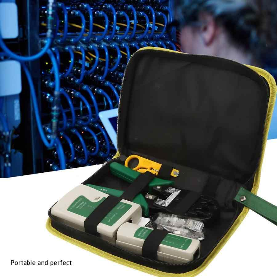 多機能ネットケーブル Analizador テスターセットワイヤーストリッパーナイフ RJ コネクタセットネットワークケーブルのテストネットワーク