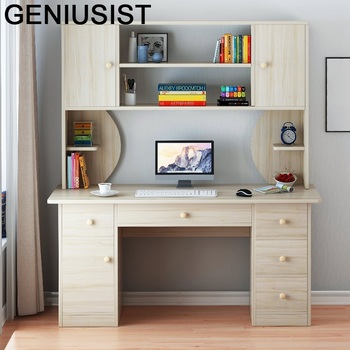 Bed Study Office Furniture Lap Scrivania Ufficio Tisch Infantil Standing Notebook Bedside Mesa Desk Laptop Table With Bookcase