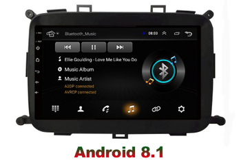 9 octa core 1280*720 QLED screen Android 10 Car GPS radio Navigation for Kia Carens 2013-2018 image