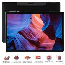 2021 novo quente ultra magro play store deca núcleo 10 polegada tablet pc 4g lte 13.0/5.0mp câmera android 8.0 1920x1200 ips tablet 10.1