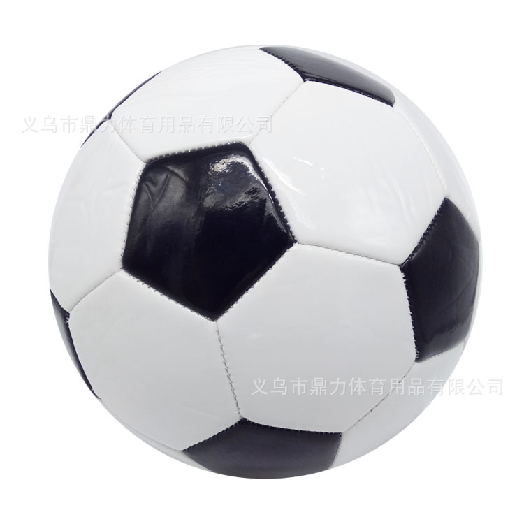 Classic Black And White Block 3 Football PVC Soccer Manufacturers Direct Selling Currently Available Wholesale A Generation Of F