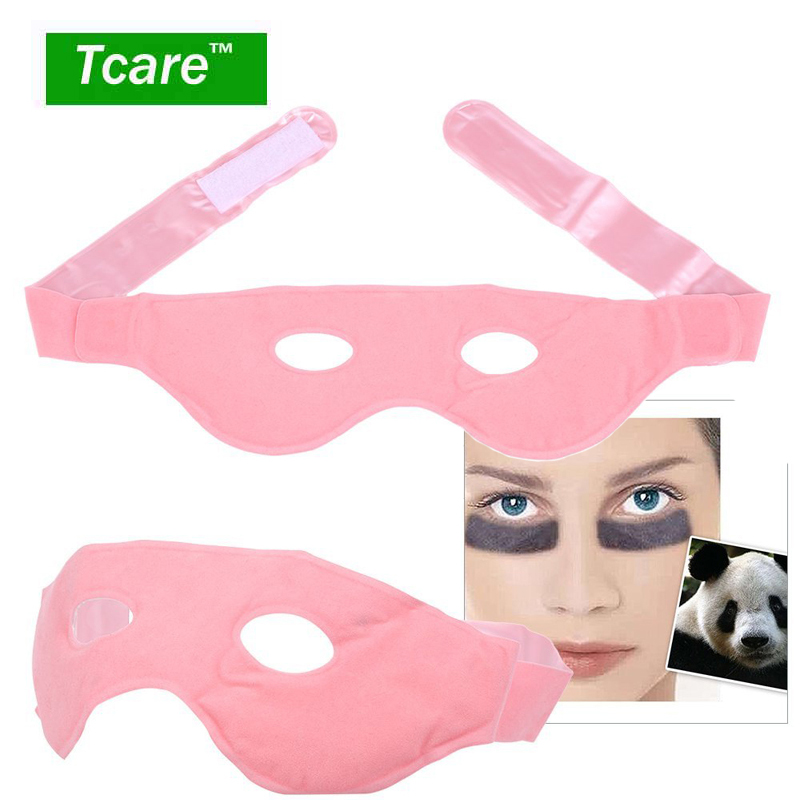 Tcare 1Pcs Anself Face Gel Mask Hot & Cold Facial Therapy Eye Care Reusable Relief Swollen Face Puffy Eyes Headaches Migraines