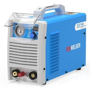 Máquina de corte de Plasma YESWELDER CUT-50/60, DC monofásico, 220V, 50 Amperios/60 amperios, cortador de Plasma inversor, 20mm de espesor máximo de corte