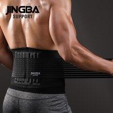 Jingba cinta masculina de apoio para cintura, cinto modelador de corpo, perda de peso, cincher, magro, sauna, treinamento, academia, espartilho