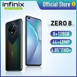 Смартфон Infinix ZERO 8, 6,85 дюйма, 8 + 128 ГБ, 64 мп, Helio G90T, 33 Вт