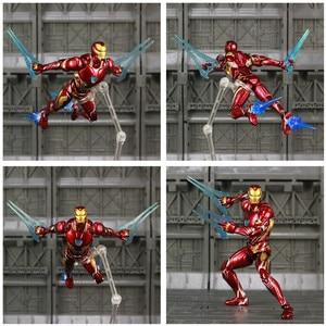 "Image 2 - Iron Man MK50 6 ""Action FIGURE Avenger IRONMAN NANO Mark 50 Infinity War Tony Stark Legends KOs SHF endgameของเล่นตุ๊กตา"