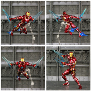 "Image 2 - Iron Man MK50 6"" Action Figure Avenger Ironman Nano Mark 50 Infinity War Tony Stark Legends KOs SHF Endgame Toys Doll Model"