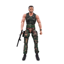 цена на Neca Anniversary Aliens Predator Jungle Patrol Unmasked Masked Demon Extraction Patrol Encounter Disguise Dutch Action Figure