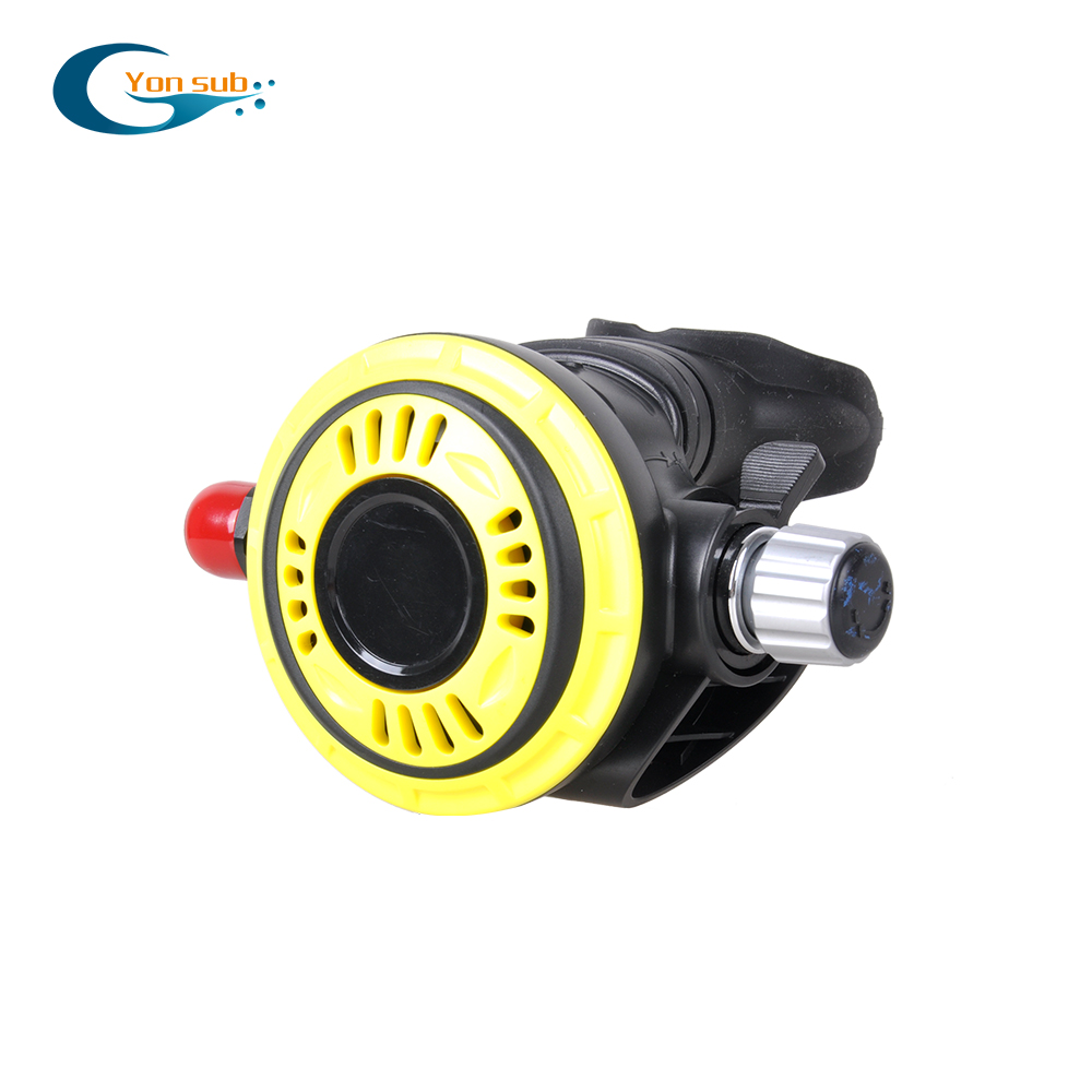 YONSUB Scuba Diving Ventilator Second Stage Regulator Diving Respirator Breathing Equipment Low Pressure Second Stage