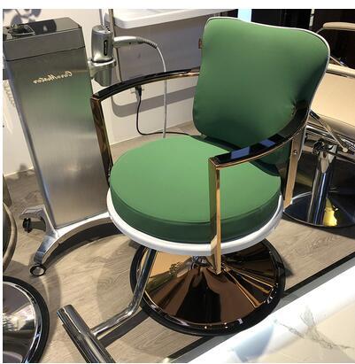 High-end Barbershop Chair Hairdressing Stool Hair Salon Dedicated Simple Modern Chair Disc Web Celebrity Hair Cutting Chair