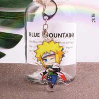 Anime Naruto Keychain Abbildung Schlüssel Ring-Halter-Stand Unterstützung Action Anhänger Zubehör Minato Uchiha Madara schlüsselanhänger Akatsuki