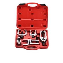 5pcs Professional Ball Joint Separator Service Tool Kit Pitman Arm Puller Ball Joint Separator Tie Rod Remover Tool epi ball joint kit king pin we351004